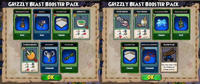 Pirate101 Grizzly Beast Pack