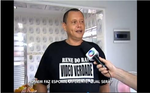 RENE DO RAP SENDO ENTREVISTADO PELO BALANÇO GERAL REDE RECORD SP
