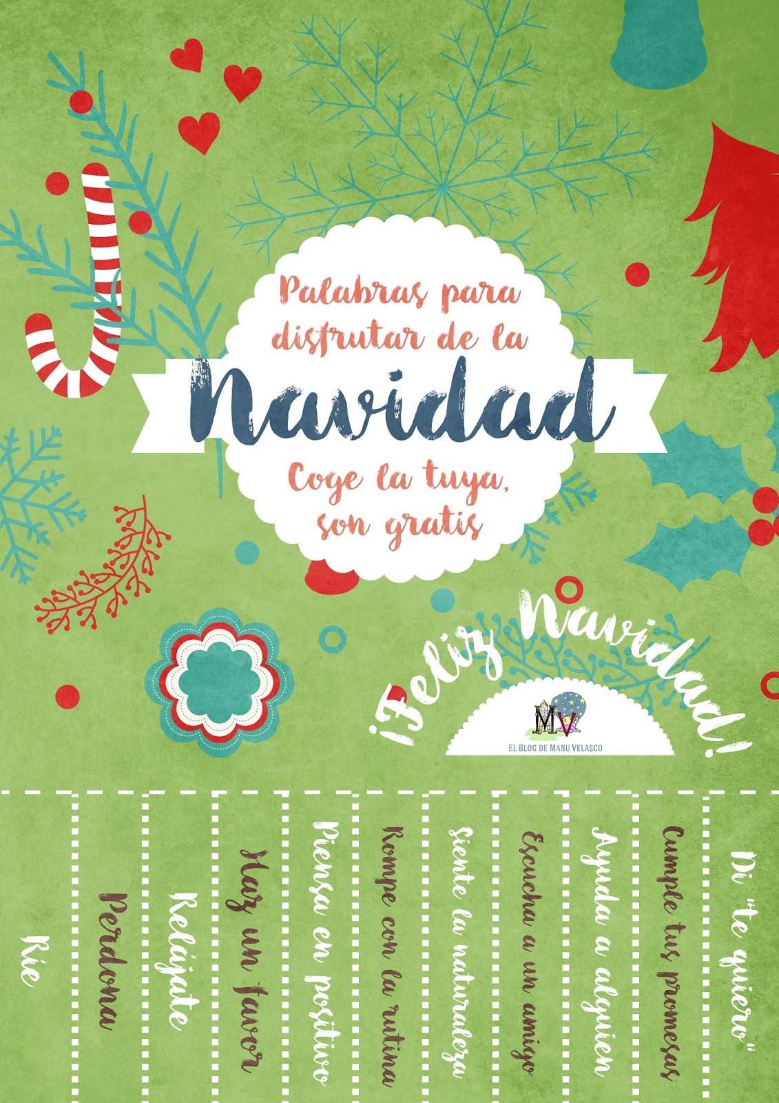 El blog de manu velasco palabras para disfrutar de la navidad for Objetos de navidad