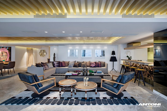 Picture of large living room