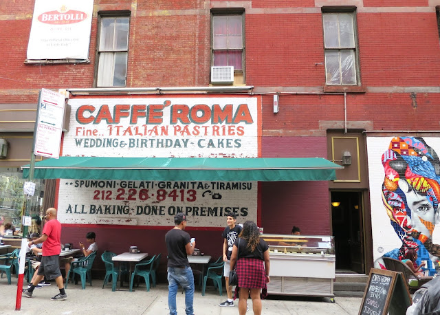 caffe roma, little italy, new york, new york city, manhattan