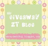 ^ menang 1st Giveaway Zanariah Tap Blog^