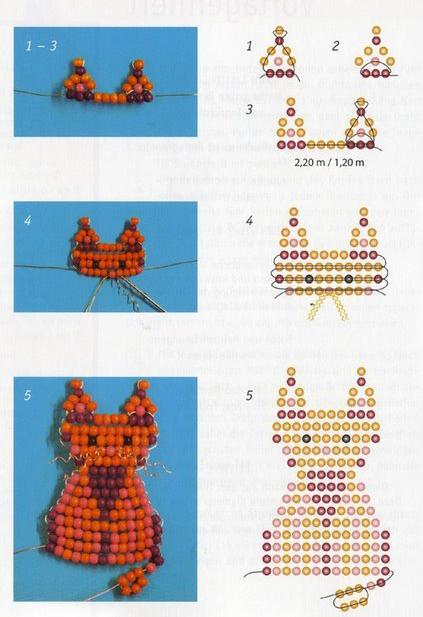 техника плетения цветов из бисера для начинающих.