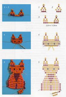гердан из бисера схемы плетения для начинающих
