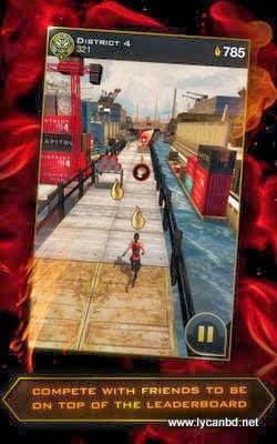 Hunger Games- Panem Run Android Apk Oyunu resimi 1