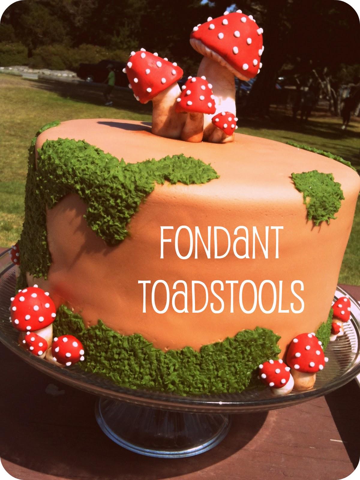 Fondant Tutorial Woodland Toadstools & Jennuine by Rook No. 17*: Fondant Tutorial: Woodland Toadstools islam-shia.org