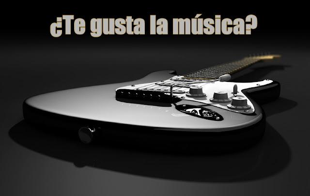 ¿Te gusta la música?