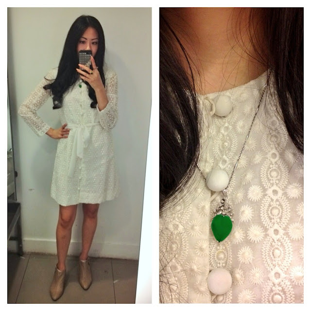 cutandchicvintage on instagram wearing a vintage white dress