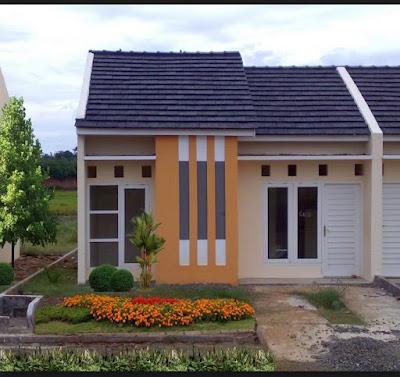 taman mini depan rumah minimalis