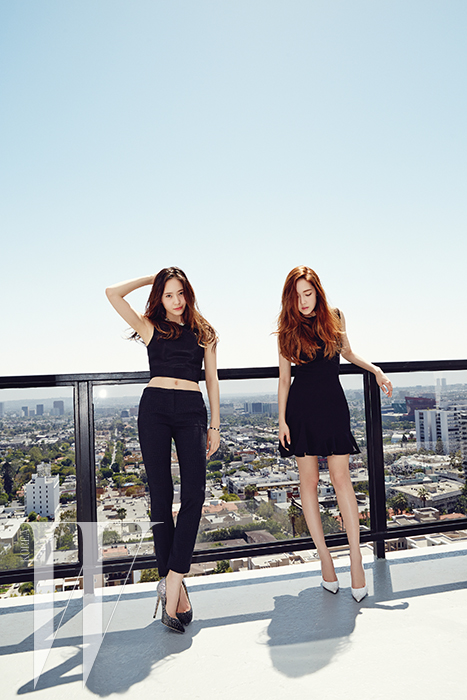 twenty2 blog: Girls' Generation's Jessica and f(x)'s ... F(x) Krystal And Jessica