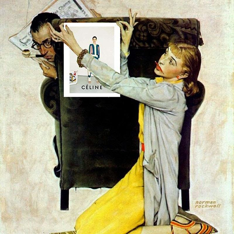 norman rockwell and aaron copland great Aaron copland conducting fanfare for the common man c 1944 the saturday evening post goes to war image credits: charting war maneuvers, norman rockwell.