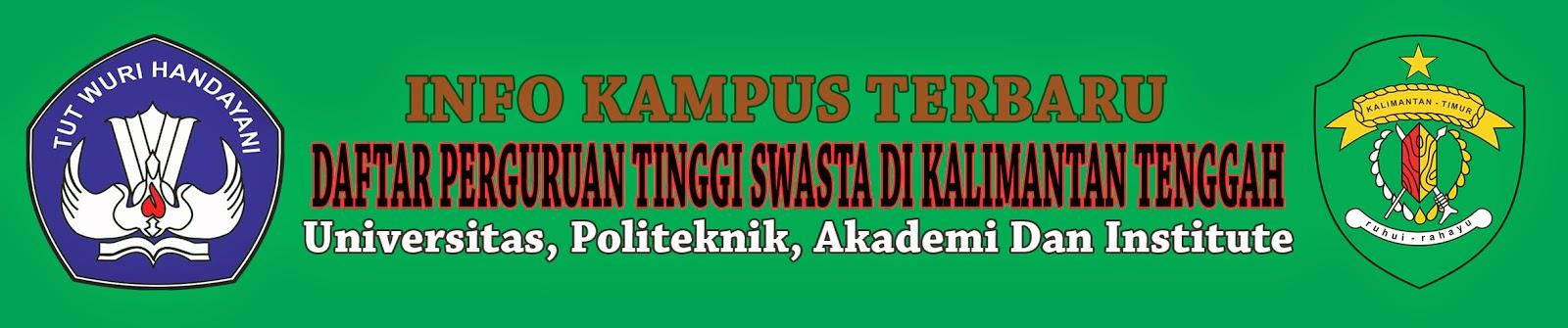 Daftar Perguruan Tinggi Swasta Di Kalimantan Timur