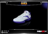 NBA 2K14 Anta Luis Scola Signature