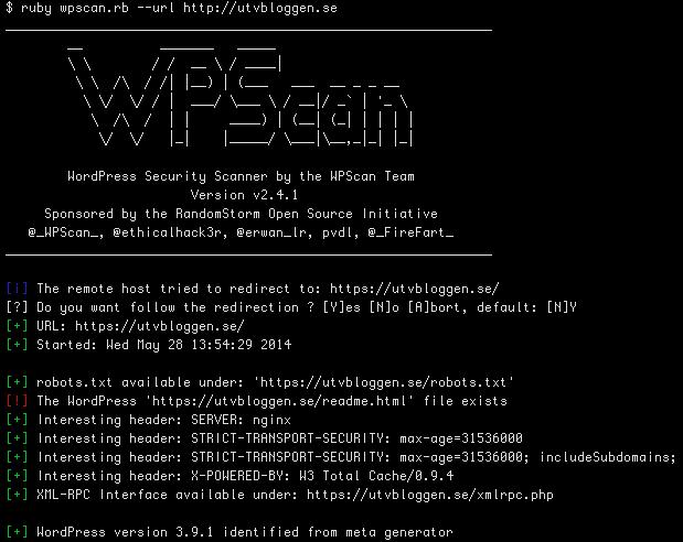 Conheça o WPScan Vulnerability Database  criado por Ryan Dewhurst @ethicalhack3r