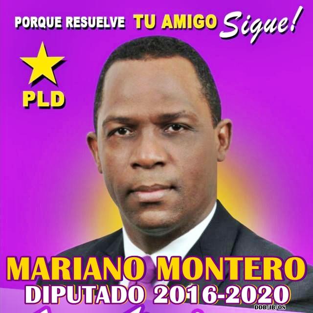 MARIANO MONTERO, DIPUTADO PLD BARAHONA 2016-2020
