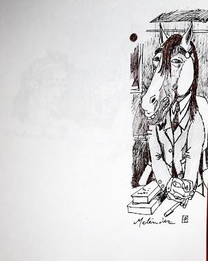 Un señor caballo