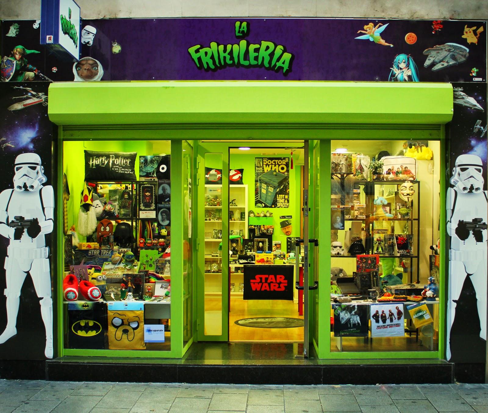 tienda friki Logroño