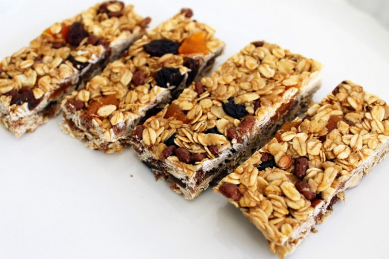 Silver Lining Knits: Homemade Oat Bars