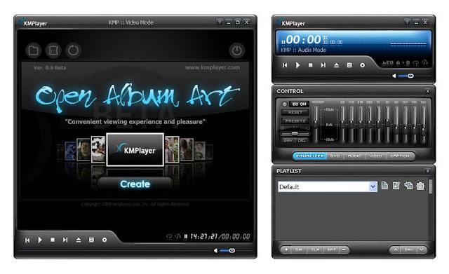 تحميل برنامج 3.7 KMPlayer لتشغيل جميع صيغ الصوت والفيديو بإصداره الجديد مجاناً