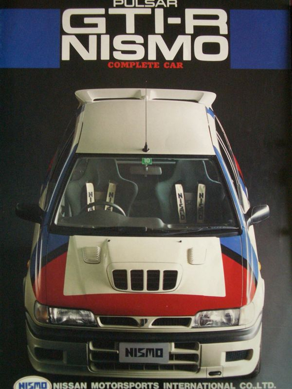 Nissan Pulsar Sunny GTi-R N14 tuning zdjęcia japoński sportowy samochód hot hatchback JDM 日産 日本車 ホットハッチ スポーツカー NISMO