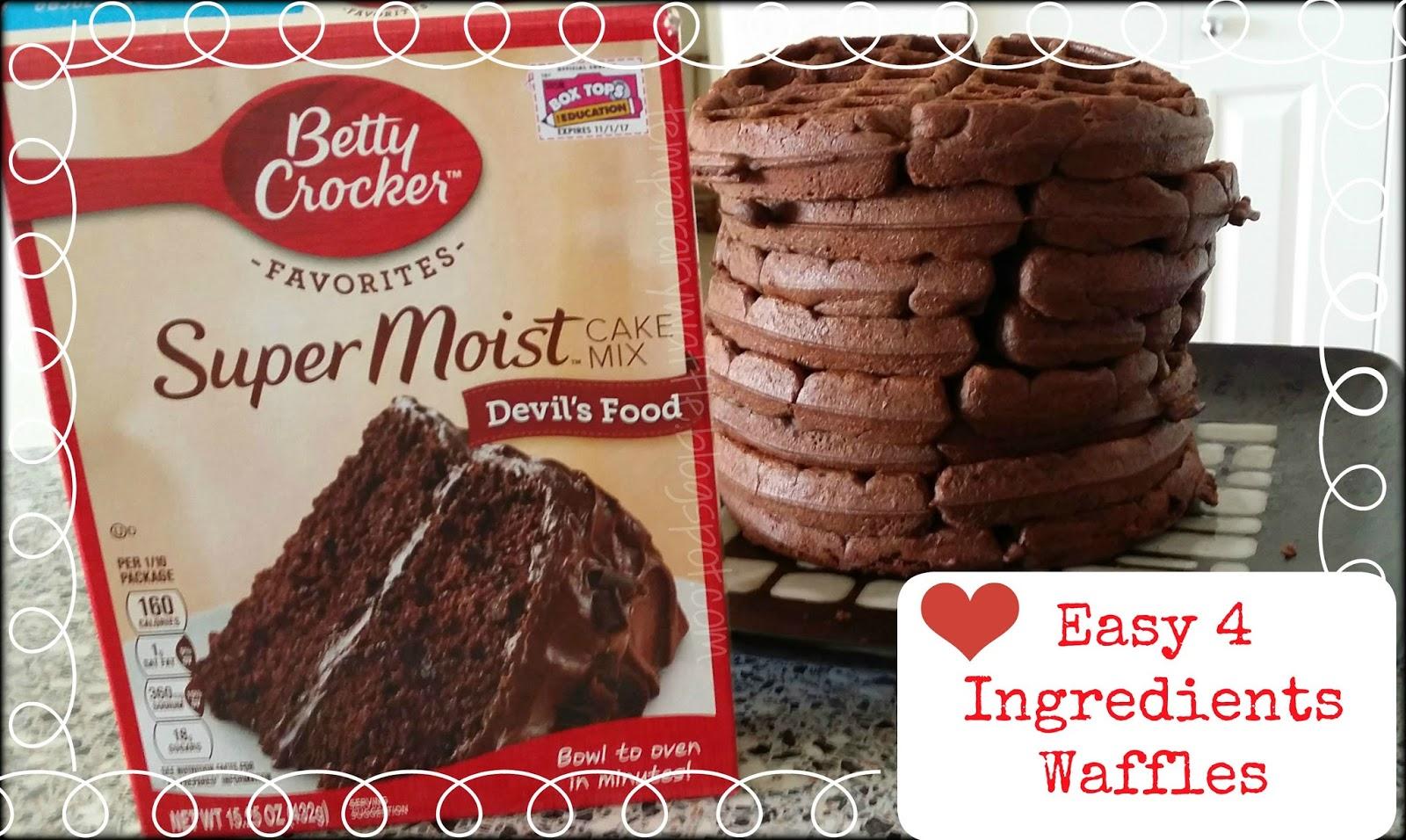 Betty Crocker Super Moist Chocolate Fudge Cake Mix Instructions