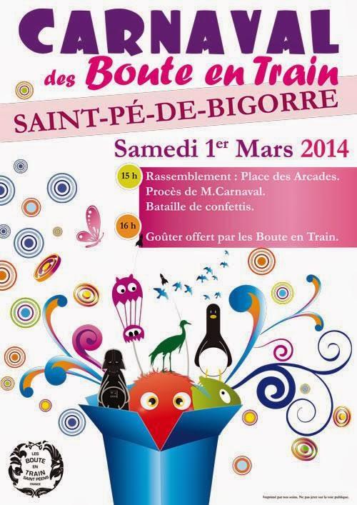 CARNAVAL 2014 à Saint-Pé-de-Bigorre