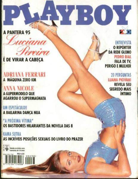 Luciana Pereira - Playboy 1995