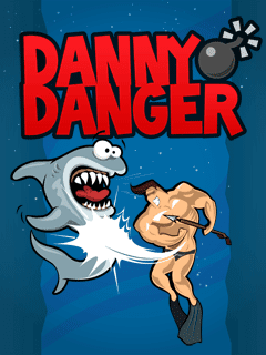 Screenshots of the Danny Danger for java mobile, phone.
