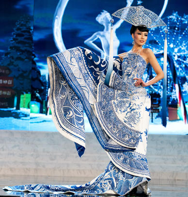 Indonesia on Miss China2 National Costume Miss Universe 2012 Jpg
