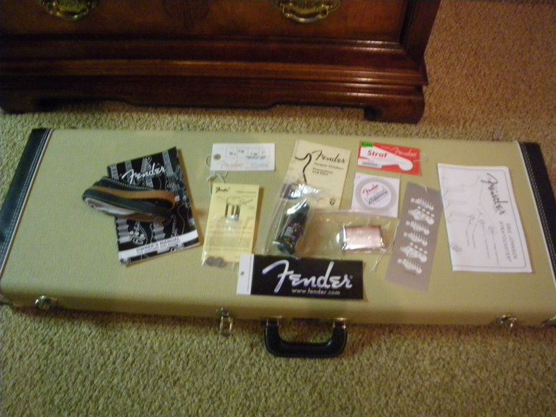 tuttle modified eric johnson strat stratocaster guitar culture this seller has michael tuttle refret ej strats 6100 frets and strip the neck finish to replace hand rubbed oil finish