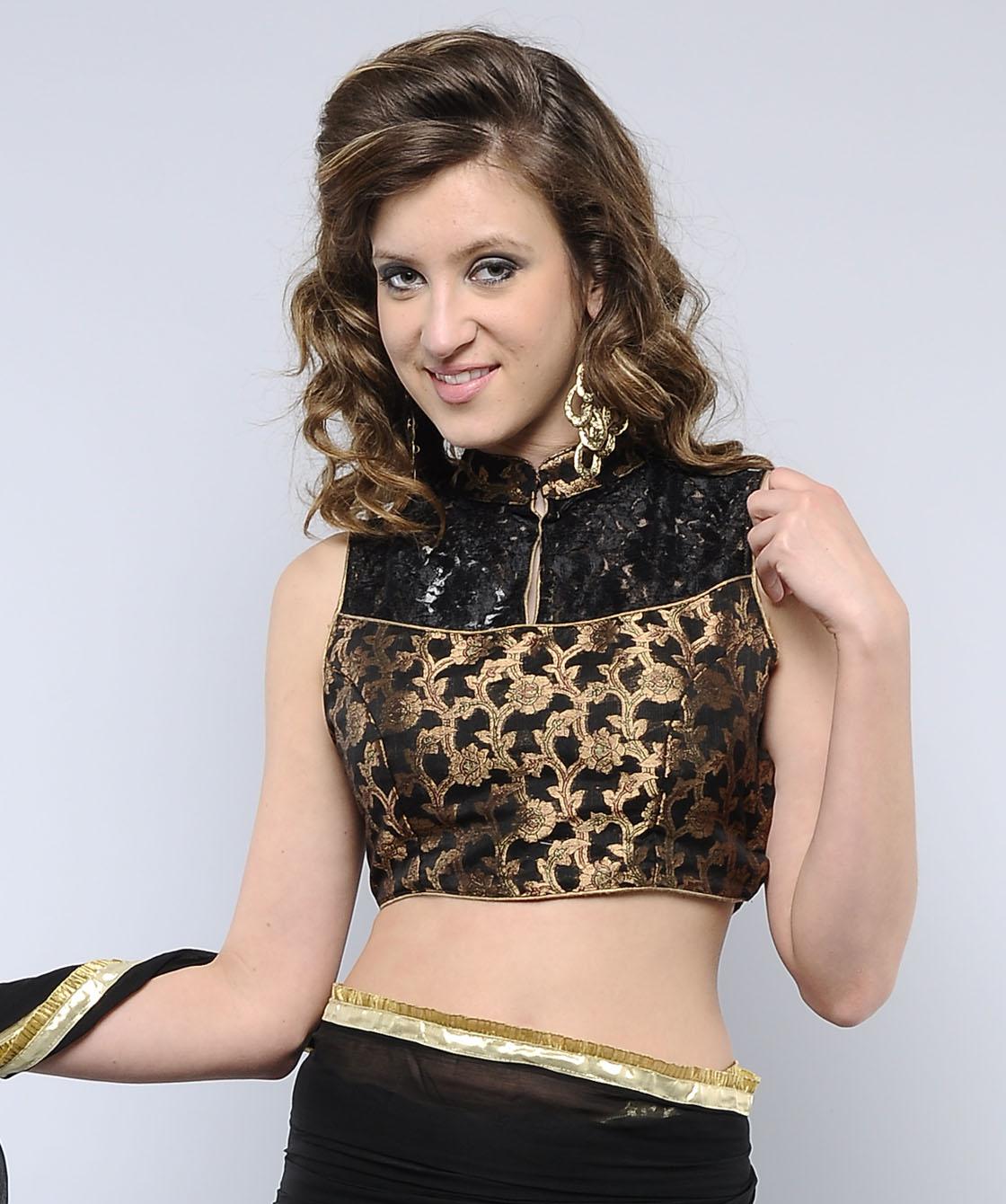 Viranica Manchu Benaras Half Sari | Celebrities Sarees ...