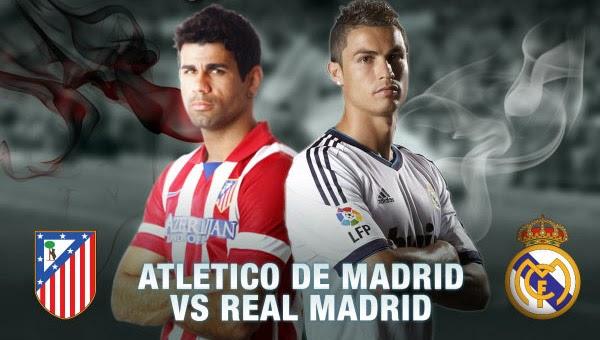 مباراة ريال مدريد وأتليتكو مدريد السبت 7/2/2015, موعد المباراة والقنوات الناقلة
