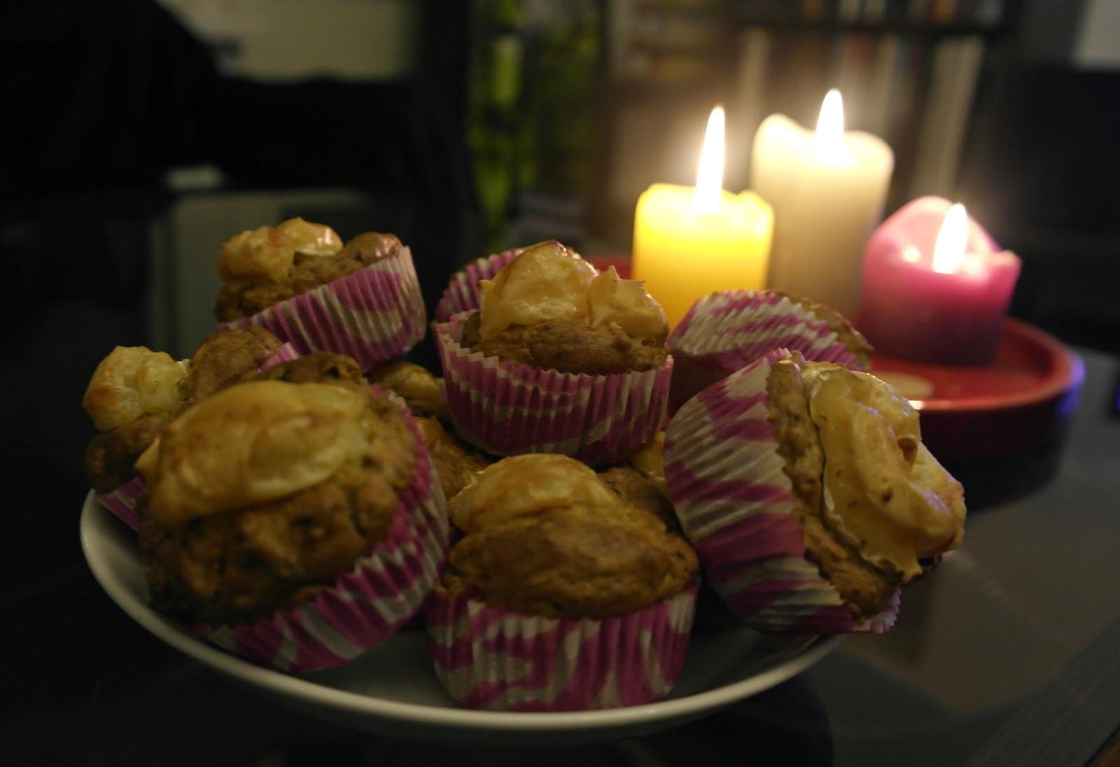 Vuohenjuusto-sienimuffinit (gluteenittomat)