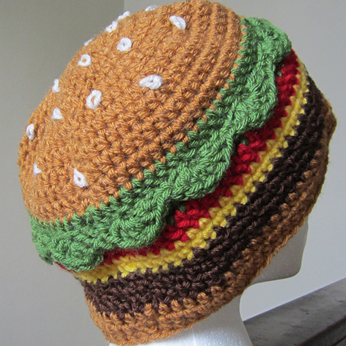 The Cheeseburger Hat