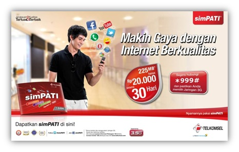 Paket Internet Unlimited Termurah dan Terbaik : Simpati Internet Mania