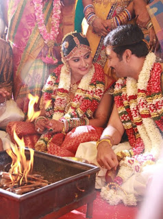 Prasanna and Sneha Wedding Pics