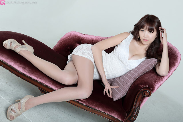 3 Lee Eun Hye in White Mini Dress-Very cute asian girl - girlcute4u.blogspot.com