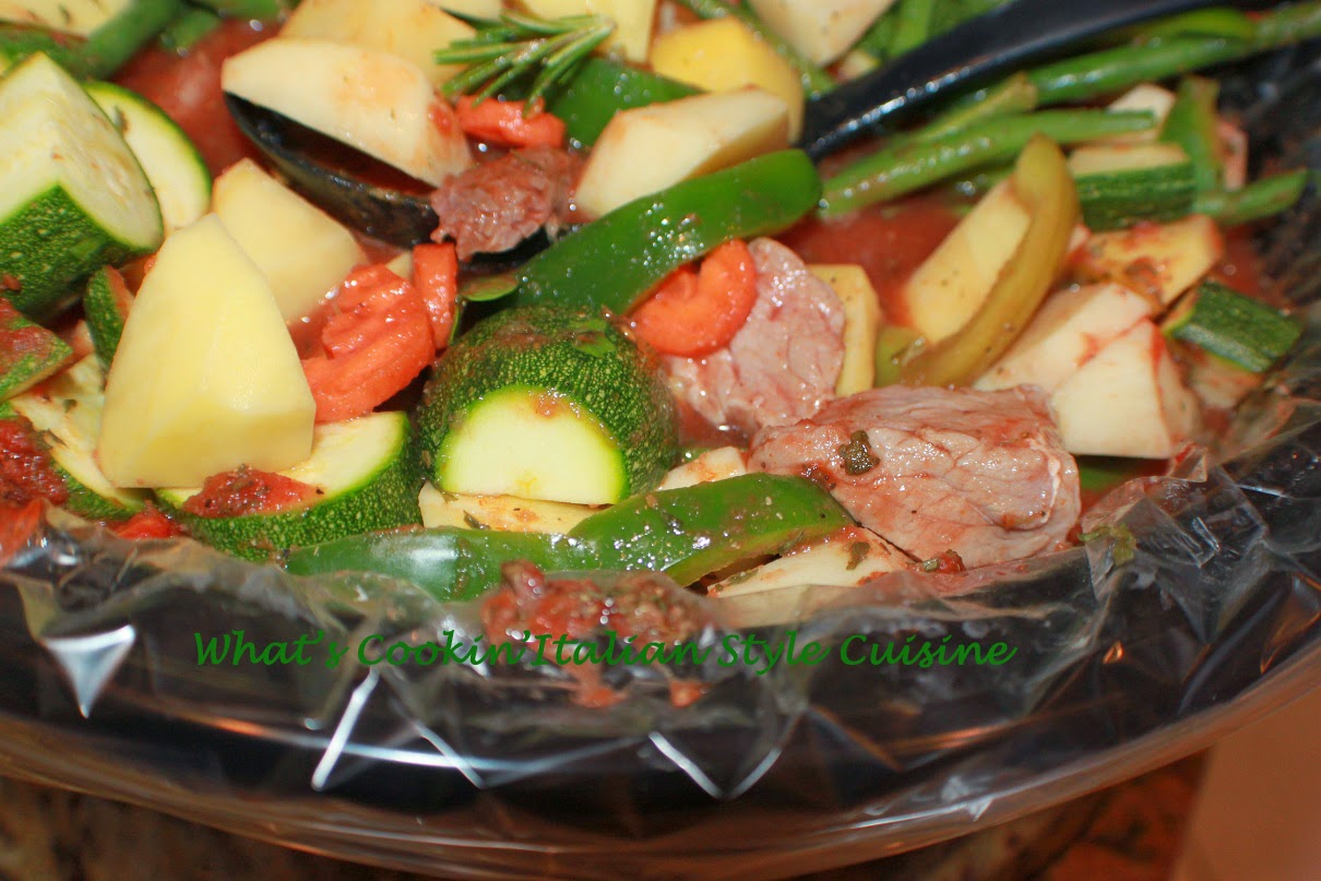 Italian Vegetable Stew Crockpot Recipe | What's Cookin ...