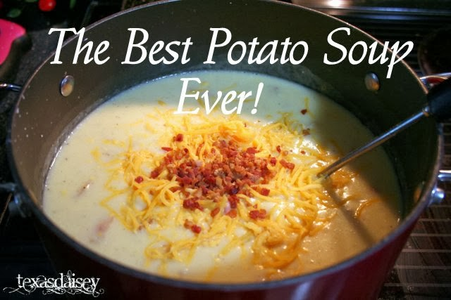 Recipe for the best potato soup ever