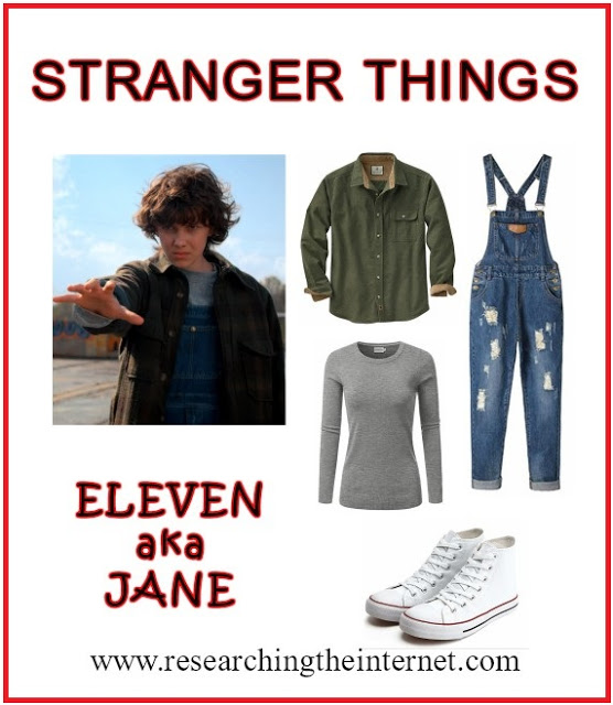 DIY Stranger Things Eleven Costume