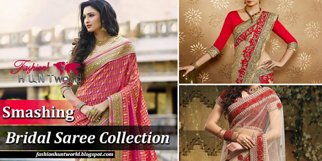 South Asian / Indian Bridal Saree Designs 2015 - 2016