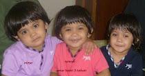 alya, niesa, syasya 3 tahun