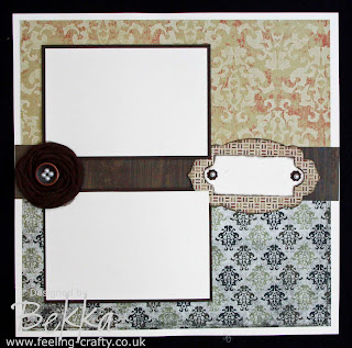 Love this Scrapbook Page by Bekka www.feeling-crafty.co.uk The flower is stunning!
