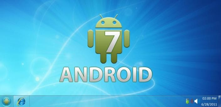 android windows 7 launcher full apk cracked