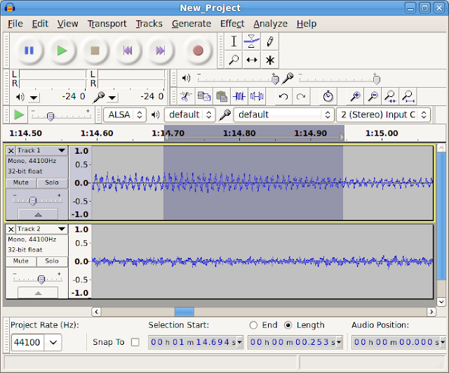 Audacity Terbaru Gratis (Editor Audio)