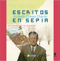 Escritos en Sepia Arizbeth Chávez Chacón