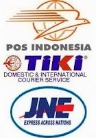 Pengiriman Produk : POS, TIKI & JNE