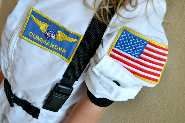 Mommy Testers DIY Space camp astronaut costume #Unplug2Play #cbias