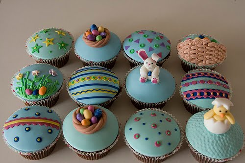 Delicious easter cupcakes ideas easter cupcakes for kids for Cute cupcake decorating ideas for easter