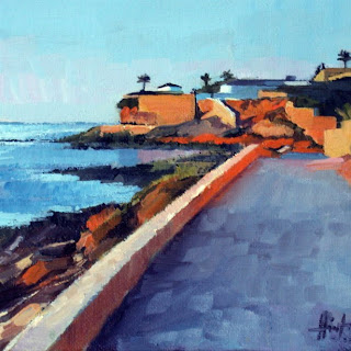 On the Way to Cabo Roig by Liza Hirst